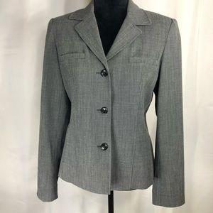 Rafaella Woman Grey Blazer Size 10